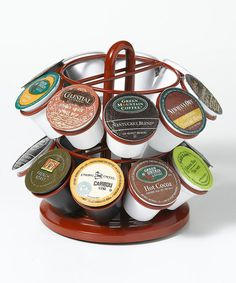 Another great find on #zulily! Red 18-Slot K-Cup Carousel by Nifty Home Products #zulilyfinds