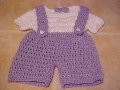 Preemie Overalls for Baby