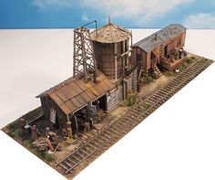 This year's awesome kit from Fine Scale Miniatures - George Selios