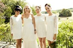 Cool Bridesmaids Dresses - Steve Gerrard Photography