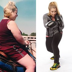 317774101e 125 Pounds Lost  Boxing Helps Shanna Get Fit. Dieta DetoxWeight Loss ...