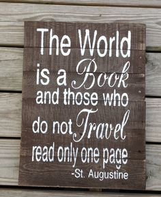 The World is a Book and Those Who Do Not by RescuedandRepurposed