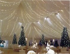 This looks so magical Wedding Tent Rentals Chicago IL - large wedding tents, wedding rentals ...