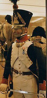 Captain of French  94th Line Infantry 1810-1812. Original uniform