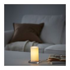 IKEA offers everything from living room furniture to mattresses and bedroom furniture so that you can design your life at home. Check out our furniture and home furnishings! Led Candle Lights, Home Wedding, Cot, Elegant Wedding, Love Seat, Ikea, Living Room, Furniture, Battery Operated