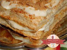 Μιλφέιγ - Millefeuille with semolina cream / glykesdiadromes.wordpress.com Sweets, Cream, Ethnic Recipes, Wordpress, Food, Creme Caramel, Gummi Candy, Candy, Essen