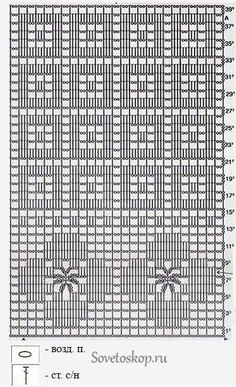 Only Crochet Patterns Archives - Beautiful Crochet Patterns And Knitting Patterns - Diy Crafts Filet Crochet Charts, Crochet Diagram, Crochet Stitches Patterns, Crochet Motif, Crochet Designs, Crochet Doilies, Crochet Lace, Crochet Flower, Knitting Patterns
