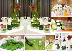 Tischdeko für Hochzeit oder Geburtstag oder Konfirmation/Kommunion 2015
