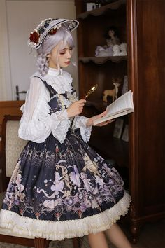 Arcadian Deer [Four Elements of Astrology - Fire Signs] Lolita JSK