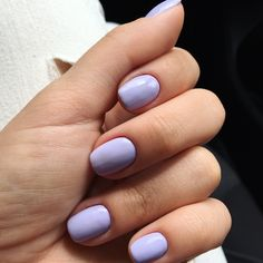 Light purple nails | In love with the color  #drymanicure #passionfornails #nailartist #pavelinadragoinailartist #reformanails #reformanailsystem #reforma