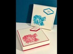 Elegant Gift Box Video Tutorial with Heartfelt Blooms. - YouTube
