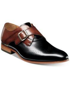 61cefe8fece70 Men s Saxton Monk Strap Wingtip Loafers