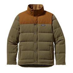 Patagonia Men\'s Bivy Down Jacket - Fatigue Green FTGN