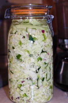 Salt Water Fermented Vegetables