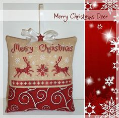 Stitches by Carin: Last 2 ornaments made