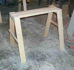 image of sawhorse
