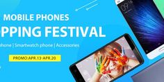 GearBest Mobile Phones Shopping Festival: Deals on Smartphone, Wearables and Accessories