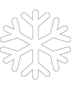Snowflake template 2 - Free Printable Coloring Pages and other apparel, accessories and trends. Browse and shop related looks. String Art Templates, String Art Patterns, Snowflake Coloring Pages, Kids Activity Center, Snowflake Template, Snowflake Pattern, Snowflake Shape, Christmas Templates, Christmas Crafts