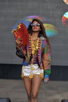 maya matangi, mia, m.i.a., fashion, style, outfit, street style, streetstyle