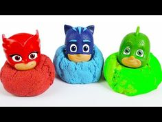 PJ Masks Toys Wrong Head with Kinect Sand Learn Colors for Kids - YouTube Pj Mask, Learning Colors, Coloring For Kids, Masks, Youtube, Hair, Clothes, Youtubers, Youtube Movies