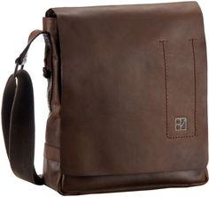 Bodenschatz Sierra Crossover Bag M Espresso - Umhängetasche