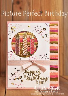 AEstamps a Latte. Happy Birthday Cards, Birthday Tags, Kids Cards, Craft Cards, Shaker Cards, Birthday Pictures, Scrapbook Cards, Scrapbooking, Birthday Balloons
