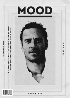 "cMag220 - MOOD Magazine ""Michael Fassbender cover by Keano Ross / Issue nº 1 / May 2012"