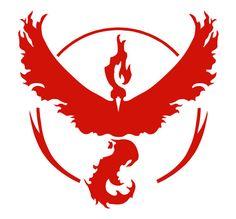 Pokemon Go Team Valor Logo Symbol Vinyl Decal by KeekatCreations