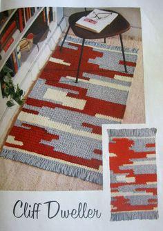 vintage pattern. it is crochet!
