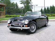 67 3000 Mark 3 Austin Healey, Black, Convertible