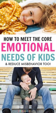 Meet more than the basic needs of a child. Core emotional needs of a child to he. - Meet more than the basic needs of a child. Core emotional needs of a child to help them thrive, teach kids about emotions, and reduce power struggles. Parenting Quotes, Parenting Advice, Parenting Styles, Gentle Parenting, Kids And Parenting, Toddler Behavior, Positive Discipline, Happy Mom, Behavior Management
