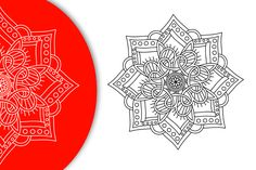 Free Vector Mandala Ornamental FlowerSVG, PNG, EPS and affinity Desiger files format available. Flower Svg, Vector Free, Mandala, Ornaments, Abstract, Artwork, Cards, Work Of Art, Christmas Decorations