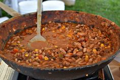 3 bean chili from The Thayer Hotel at the Taste of New Paltz
