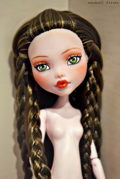 Ooak Monster High, Draculaura. | Flickr - Photo Sharing!