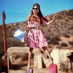 Vintage-Inspired: Ariana Grande photographed by Sebastian Kim
