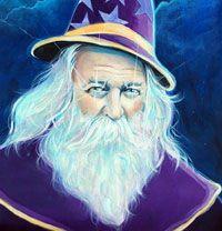 Master Merlin My favorite portrait of Merlin...