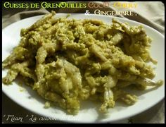 Cuisses de Grenouilles CocO-Curry & Gingembre