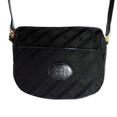 BALENCIAGA vintage bag Silk Leather black di vintageinfashion