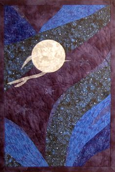 Sun, Moon and Stars quilt pattern - Merrill Lee Designs