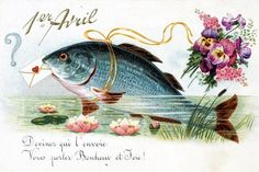 origine du poisson d' avril