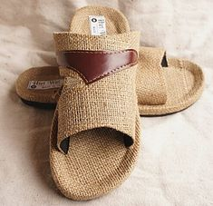 Wholesale Natural plant fiber  Home supplies hand knitting sandals Handmade Linen Slippers  50pairs/lot Free shipping