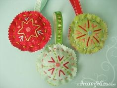 homemade christmas ornament ideas -