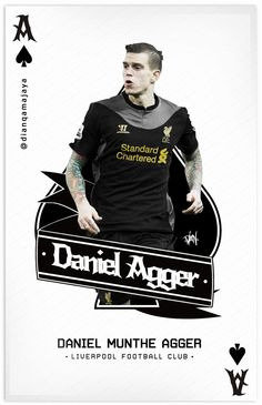 ♠ Daniel Agger #LFC #Artwork