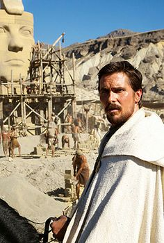 First Official Look at Ridley Scott's Exodus, Starring Christian Bale.