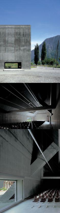 Auditorio Plantahof | Valerio Olgiati