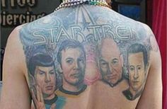 One of Ten crazy Geek Tattoos - It's an interesting list with a couple awesome ones...