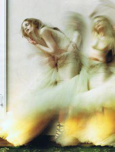 """Guinevere Van Seenus in 'Dreaming of Another"""" by Tim Walker"""