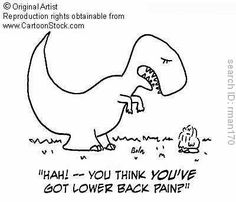 T-rex back pain
