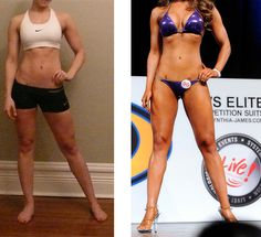 Pictures taken just 3 days apart. Shows how much your diet plays a part in how you look!