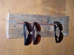 Reclaimed Wood Sunglasses Storage by Rustic Wood Originals, $32.00